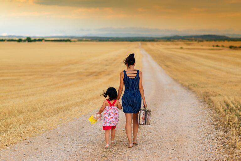 Mit den Kindern über die Trennung reden
